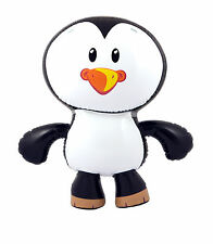 GIGANTE GONFIABILE Penguin saltare Novità Festa MARE ANIMALI GIOCATTOLO gonfiare Nuovo 56cm