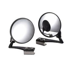 Round Stick On Rear view Side Blind Spot Convex Wide Angle Mirrors Car Truck SUV