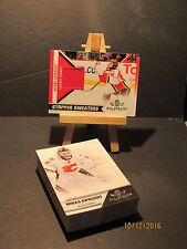 2010-11 Panini All Goalies Stopper Sweaters Red #18 Miikka Kiprusoff + 40 Base