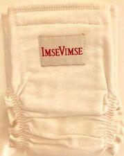 NWOT ImseVimse 100% Organic Cloth Diaper Cover Natural Color