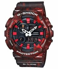Weekend Deal New Casio G-Shock GAX100MB-4A G-Lide Red Analog-Digital Mens Watch