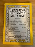 National Geographic 1949 October No Map! Québecs forest,Fairbanks,Freedom train