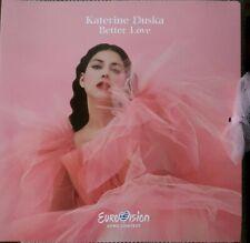 """EUROVISION 2019 GREECE ENTRY KATERINE DUSKA """" BETTER LOVE"""" PROMO CD"""