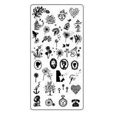 Pusteblume Stamping Schablone Nail Art Stempelschablone Platte