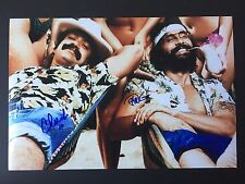 CHEECH AND CHONG Signed Autographed 10x15 PHOTO TOMMY Marin EXACT Proof CLASSIC