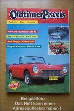 Oldtimer Praxis 8/91 Honda S 600 DB 230 SL Eriba Puck