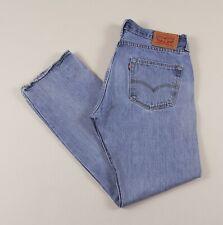 Vintage LEVI'S 501 Blue Regular Straight Fit Men's Jeans 34W 32L 34/32 /J2021