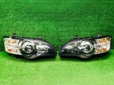 JDM 2004 Subaru Legacy BPE BP5 BL5 BP BL STI HID Headlights Lights Lamps Set OEM