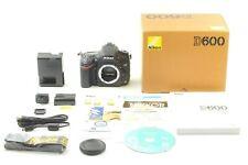【TOP MINT in BOX 13,700 shots】Nikon D600 24.3MP Digital SLR by ✈FedEx From JAPAN