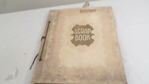 Vintage Bride Book Scrapbook