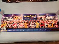 NASCAR GOOD YEAR TIRES 1954-2014 60 YEARS 34X11 POSTER