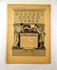 Maxfield Parrish Cover Complete HARPER'S ROUND TABLE February 1898 Vol.1 No.4.
