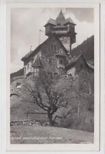 AK Obervellach, Schloss Unterfalkenstein, 1935