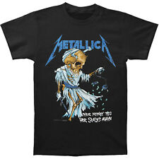 Metallica Doris Official Men's Black T-Shirt With Back Print US IMPORT