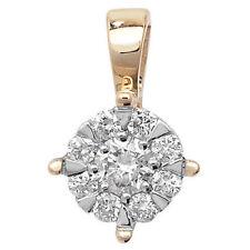 Collares y colgantes de joyería con diamantes colgante de oro amarillo, no aplicable