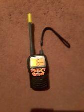 Cobra Marine Black VHF MR HH125 Handheld Marine Radio