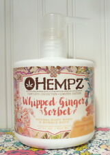 HEMPZ WHIPPED GINGER SORBET HERBAL BODY WASH 17 OZ LIMITED EDITION