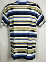Vtg Unionbay Men's Spellout 90s Striped Short Sleeve T-Shirt One Size USA Skate