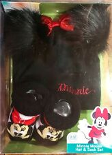 Disney Baby Gift Set Minnie Mouse Hat & Socks Set 0-12 Months New With Tags
