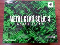 METAL GEAR SOLID 3 SNAKE EATER PREMIUM PACKAGE PS2 KONAMI Japan