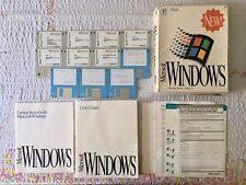 Microsoft Windows 3.1 Vintage Computer Operating System