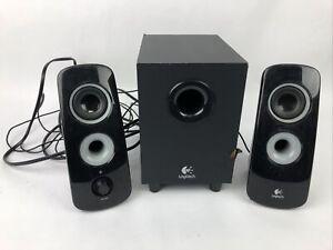 Logitech Z323 Satellite Speaker System with Subwoofer 60W Black- Free Shipping