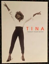 TINA TURNER Twenty Four Seven18x24 promo poster record store display 2000 Virgin