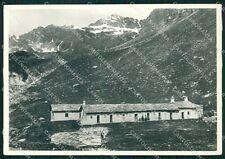 Aosta Cogne Lauson Rifugio Vittorio Sella Cai Foto FG cartolina KF1699