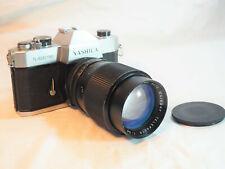 appareil photo ancien YASHICA TL ELECTRO - MC AUTOMAREXAR TELEPHOTO 135mm 1:2.8