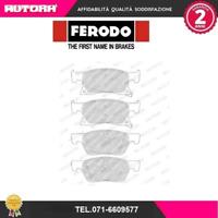 FDB4933 Kit pastiglie freno a disco ant Opel Astra K (MARCA FERODO)