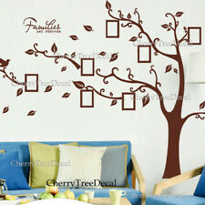 Large Family Tree Wall Decal Stickers Birds Photo Frame Quotes Home Art Decor UK