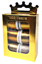 Madeira Anniversary Crown Box Metallic 40 Embroidery Thread