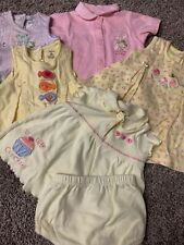 girls 6 Month Summer Lot 5 Full Outfits