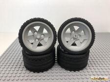 Lego® Technic 4Stk Reifen Rad 8386 44772 68.8x36 ZR 8157