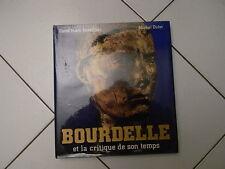 """Livre """"Bourdelle et la critique de son temps"""""""