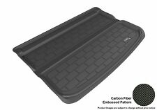For 2014-2019 Fiat 500L Kagu Carbon Pattern Black All Weather Cargo Area Liner