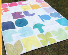 Noteworthy - fun pieced alphabet quilt PATTERN - Sew Many Creations