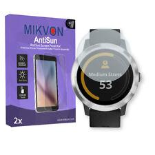 2x Mikvon AntiSun Displayschutzfolie für Garmin Vivoactive 3 mit Zubehör