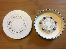 Genuine Thomas Sabo Rose Quartz Pearl Sterling Silver Bracelet 925 Charm Boxed