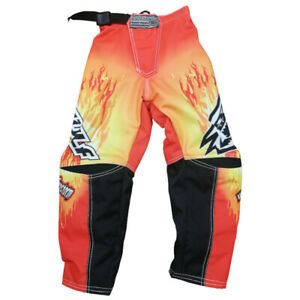 WULFSPORT CUB RED FKAME MX TROUSERS SIZE 24 WAS £49.99