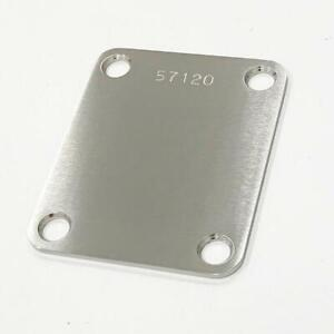 Callaham Stainless Steel Neck Plate Satin Serial Numbered
