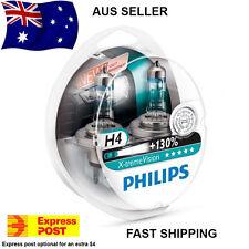 Philips X-Treme Vision +130%  H4 Headlight Globes AUS SELLER!!! Xtreme