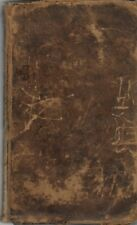THE HISTORY OF PHILIP'S WAR by Thomas Church (1829 Leather)