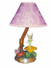 KNG Disney Fairies: Tinkerbell Fairy Animated Music Table Lamp for Girls, Kids