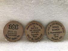 Wooden Nickels-Doug Ramos-R&S Sales- Branding Iron Cafe