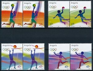 [P15353] Angola 2004 : Olympics - 2x Good Set of Very Fine MNH Stamps in Pairs