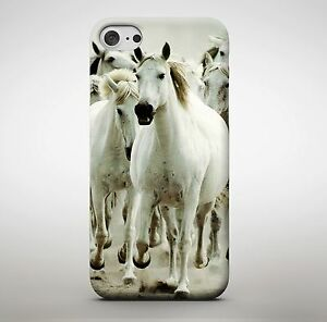 Beautiful White Horses Majestic Phone Case Cover