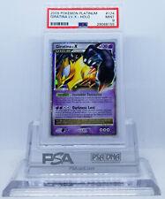 Pokemon PLATINUM GIRATINA LV X #124 HOLO FOIL CARD PSA 9 MINT #*