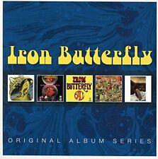 IRON BUTTERFLY Original Album Series BOX 5 CD NEW .cp