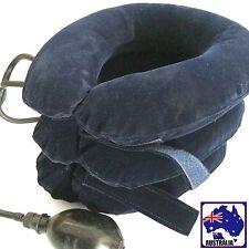 Inflatable Blow up Cervical Vertebra Tractor Neck Headache Support Snesu1835
